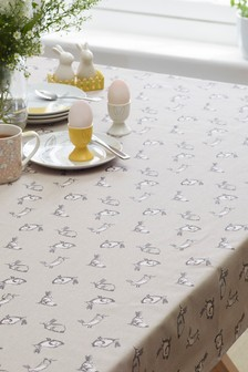 Wipe Clean Bunny Table Cloth