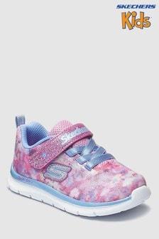 Baskets Skechers® Skech Lite Blossom Cutie roses à motifs floral et camouflage