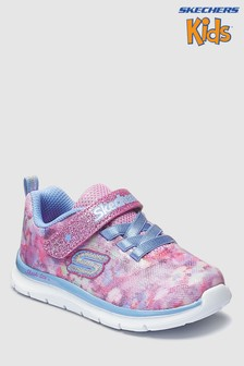 Skechers® Pink Skech Lite Blossom Cutie Floral Camo Sneaker