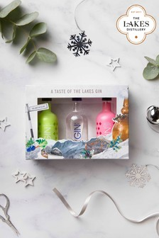 Set of 3 Gin Gift Pack by The Lakes Distillery