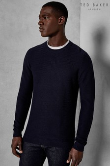 Ted Baker Percy Textured Crew Jumper