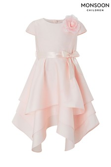 Monsoon Pale Pink Luna Tierred Dress