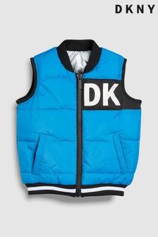 DKNY Blue Padded Gilet