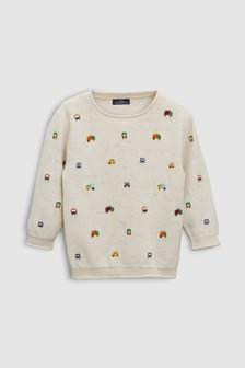 Embroidered Car Jumper (3mths-6yrs)