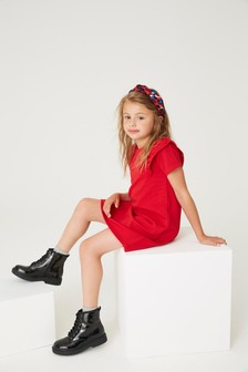 Plain Ponte Dress (3-16yrs)