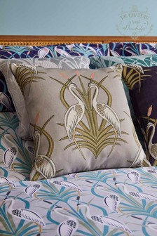 The Chateau by Angel Strawbridge Heron Moat Cushion