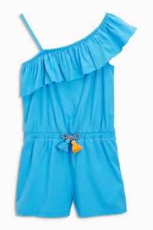 One Shoulder Playsuit (3-16yrs)