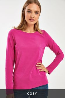 Cosy Soft Touch Long Sleeve Top