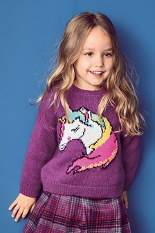 Unicorn Jumper (3mths-6yrs)