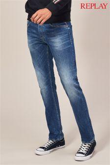 Dżinsy z prostymi nogawkami Replay® Grover