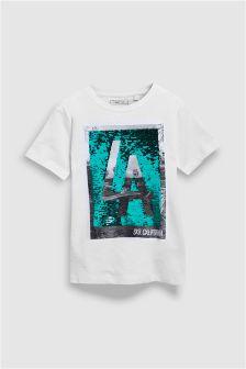 Sequin Change T-Shirt (3-16yrs)