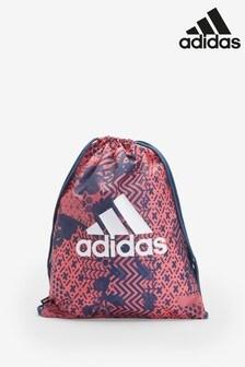 adidas Pink Printed Gym Sack