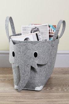 Felt Elephant Basket