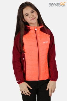 Regatta Orange Kielder Hybrid LV Full Zip Baffle Jacket