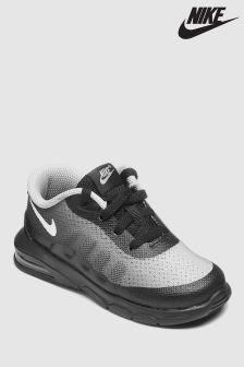 Nike Black/White Air Max Invigor