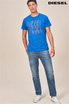 Diesel® Mid Blue 84UJ Mharky Slim Fit Jean