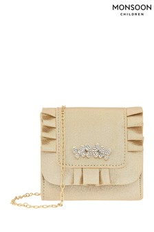 Monsoon Gold Maria Butterfly Frill Bag