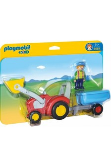 Playmobil® 6964 1.2.3 Tractor With Trailer