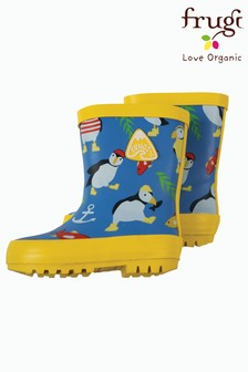 Frugi Organic Puffin Welly Boot