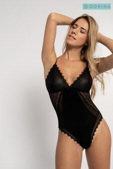 DORINA Black Darcey Bodysuit