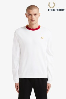 Fred Perry Abstract Neck Sweatshirt