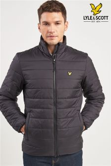 Lyle & Scott Sport Black Lloyd Padded Jacket
