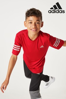 adidas Red Training T-Shirt