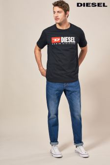 Diesel® Blue Wash 84YI Larkee Beex Regular Tapered Fit Jean