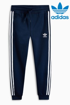 adidas Originals Navy 3 Stripe Jogger