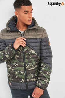 Superdry Camo Axis Padded Jacket