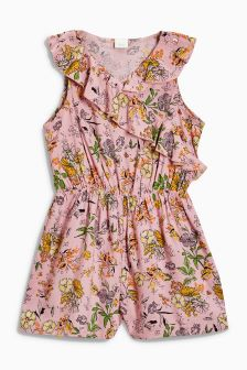Floral Playsuit Sleeveless Playsuit (3-16yrs)