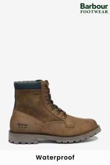Barbour® Brown Chiltern Waterproof Derby Boots