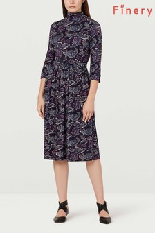 Finery London Gilly Paisley Print Dress