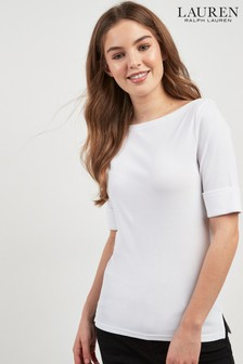 Lauren Ralph Lauren® White Judy Top