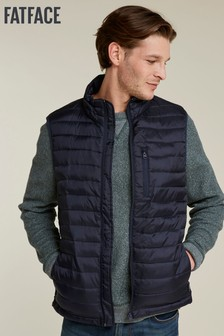 b73a20b0f486 FatFace Mawes Padded Gilet