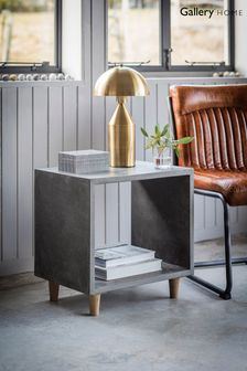 Bergen Cube Side Table By Hudson Living