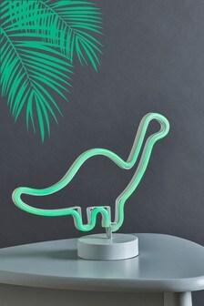 Neon Dinosaur Feature Light