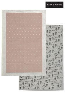 2 Pack Raine & Humble In Flight Tea Towels