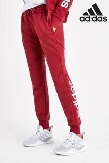 adidas Linear Maroon Joggers