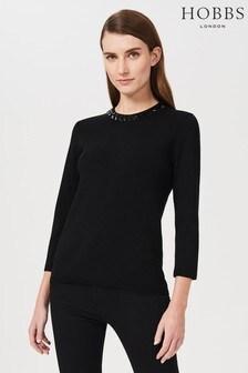 Hobbs Black Julie Sweater