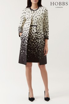 Hobbs Cream Arabella Coat