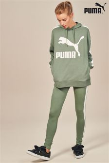 Puma® Green Classic Logo T7 Legging