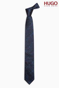 HUGO Navy Tie
