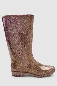 Glitter Wellington Boots