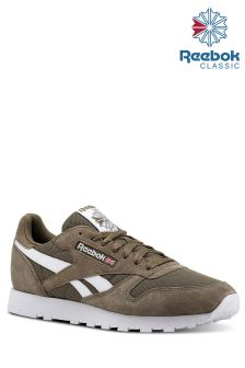 Reebok Khaki Classic Leather