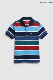 Lacoste® Navy Blue/Kayak Stripe Polo