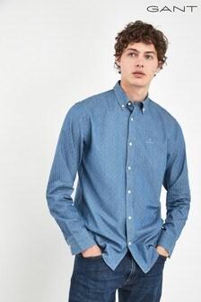 GANT Mens Indigo Dobby Shirt