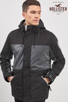 Hollister Black Shell Ski Jacket