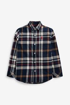 Check Long Sleeve Shirt (3-16yrs)