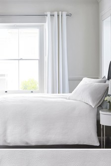 Leaf Matelasse Bed Set